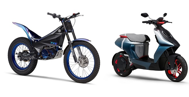 Electric Motor Scooters